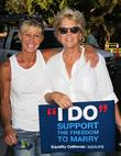 Meredith Baxter and Nancy Locke