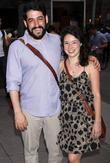 Evan Cabnet and Sarah Steele