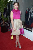 Crystal Reed, Caroline Herrera Rodeo Drive Boutique
