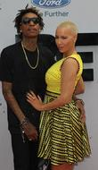 Wiz Khalifa, Amber Rose, Nokia Plaza L A LIVE