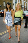 Ashley Roberts and Lilah Parsons
