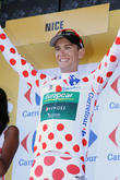 Pierre Rolland, Fra and Team Europcar  Takes The Best Climber's Jersey