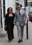 Jessie Wallace and Tim Arnold