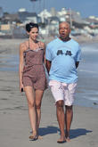 Russell Simmons and Hana Nitsche