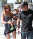 Selma Blair, Archie Bleick and Jason Bleick