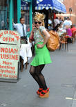 Paloma Faith out and about in Soho