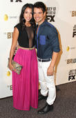 Stephanie Sigman and Andres Zuno