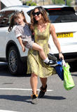 Myleene Klass and Ava
