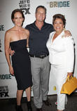 Annabeth Gish, Brian Van Holt and Alma Martinez
