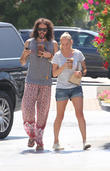 Russell Brand At Coffee Bean
