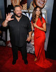 Kevin James and Steffiana De La Cruz