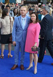 Simon Pegg, Maureen Pegg, Odeon Leicester Square