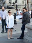 Jonny Lee Miller, Lucy Liu, Trafalgar Square