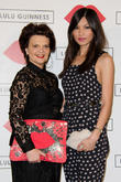 Lulu Guinness and Gemma Chan