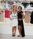 Gretchen Rossi and Lisa Vogel