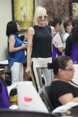 Gwen Stefani goes to a nail salon in Beverly Hills