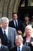 The funeral service of Drummer Lee Rigby