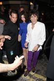 Sir Mick Jagger's 70th birthday party departures