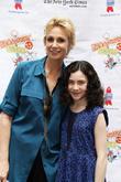 Jane Lynch and Lilla Crawford