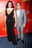 Gilberto Santa Rosa and Alexandra Malagon