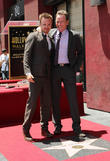 Aaron Paul, Bryan Cranston, On The Hollywood Walk Of Fame, Walk Of Fame