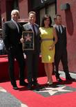 John O'Hurley, Bryan Cranston, Jane Kaczmarek, Aaron Paul, On The Hollywood Walk Of Fame, Walk Of Fame