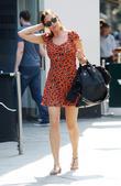 Lisa Snowdon walking in Central London