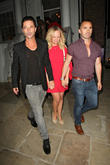 Emma Bunton, Louie Spence and Jake Canuso