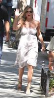 Jennifer Aniston, streets of NY