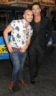 Louie Spence and Jake Canuso