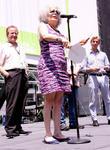 Steve Vinovich, Marilyn Sokol and Bill Army