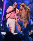 Pitbull and Jennifer Lopez