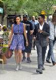 Chris Rock and Rosario Dawson