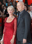 Dame Helen Mirren and Bruce Willis
