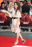 Oona Chaplin, Odeon Leicester Square
