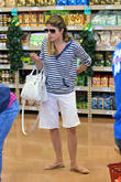Actress Selma Blair is seen shopping at Trader...