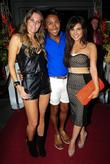 Jude Cisse, Marcus Collins and Roxanne Pallett