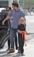 Ben Affleck, ben & jen affleck and Jennifer Garner
