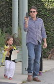 Seraphina Affleck and Ben Affleck