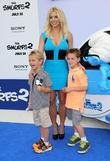 Britney Spears, Jayden James Federline and Sean Federline