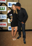 Shemar Moore and A. J. Cook