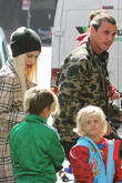 Gwen Stefani, Gavin Rossdale, Kingston Rossdale and Zuma Nesta Rock Rossdale