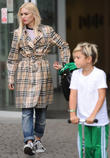 Gwen Stefani, Gavin Rossdale and Kingston Rossdale