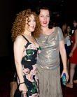 Bernadette Peters and Debi Mazar
