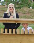 Gwen Stefani and Kingston Rossdal