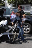 Scott Disick, Kourtney Kardashian and Penelope Disick