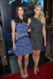 Alexandra Daddario and Leven Rambin