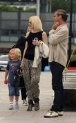 Gwen Stefani, Gavin Rossdale and Zuma