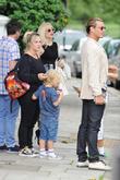 Gavin Rossdale, Zuma Rossdale and Gwen Stefani