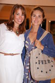 Jill Zarin and Lauren Bush